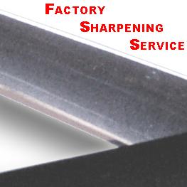 Scissor Sharpening Service