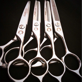 Kelly Cardenas Hair Shears – Full Set of 4